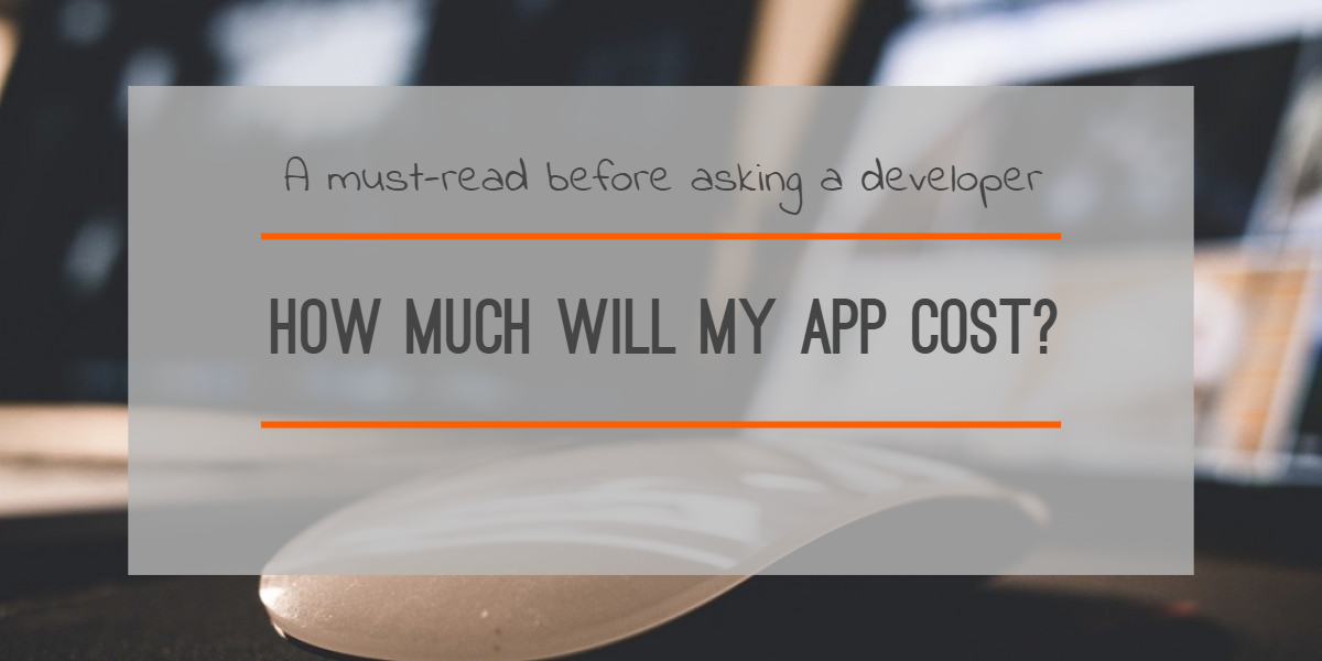how much does an app developer cost