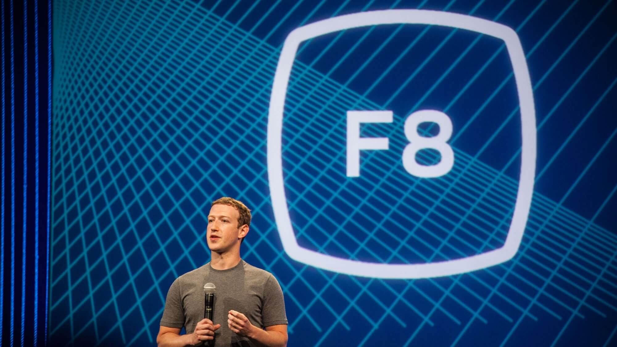 Facebook F8 - Mark Fuckerberg