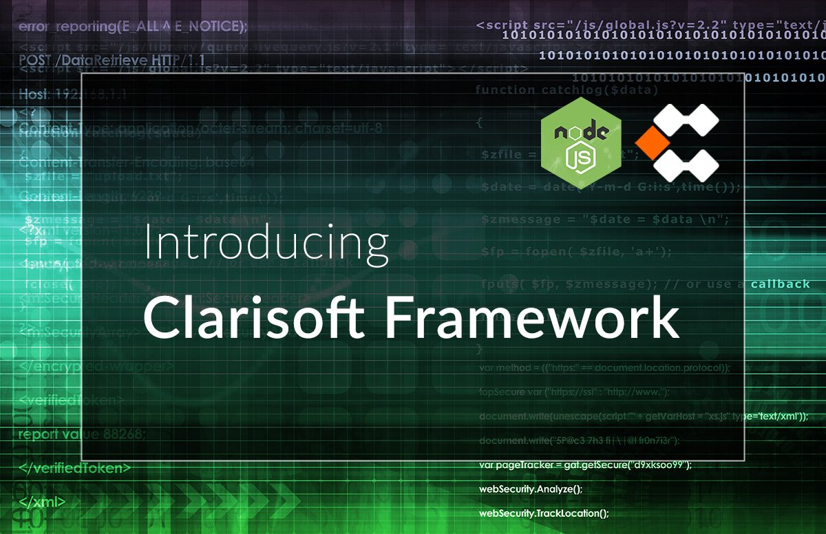 Simplifying and optimising backend development with NodeJs Clarisoft Framework